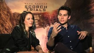 getlinkyoutube.com-Maze Runner: The Scorch Trials - Scodelario & O'Brien