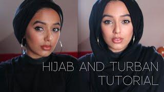 getlinkyoutube.com-Hijab and Turban Tutorial | Simple and quick hijab styles using no pins!