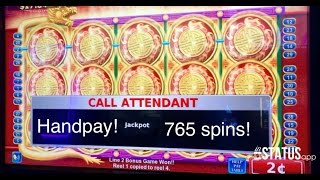 getlinkyoutube.com-**Handpay Jackpot** 765 spins! Flying Fortune slot