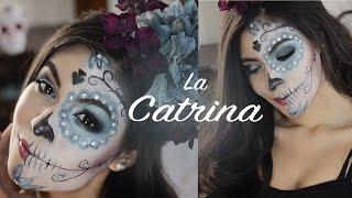 getlinkyoutube.com-MAQUILLAJE DE CATRINA/Sugar Skull