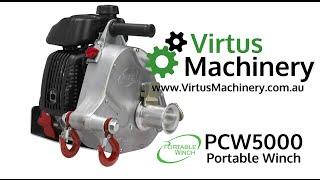 getlinkyoutube.com-PCW5000 Portable Winch