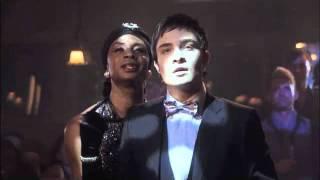 getlinkyoutube.com-Gossip Girl: Blair Burlesque Dance/Blair & Chuck in Limo - 1x07