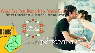 getlinkyoutube.com-[ Beat - Lyric ] What Are You Doing New Years Eve - Zooey & Joseph - Instrumental by Trịnh Gia Hưng