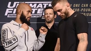 getlinkyoutube.com-The Ultimate Fighter Finale: Media Day Faceoffs