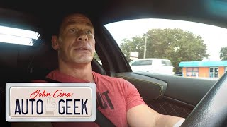 John Cena drives BRUCE WAYNE's car like it's hot! - John Cena: Auto Geek