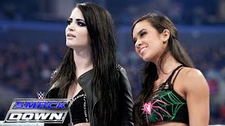 getlinkyoutube.com-AJ Lee & Paige unite in a war of words with The Bella Twins: SmackDown, March 26, 2015