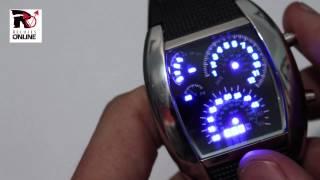 Vídeotutorial de configuración del reloj led rpm de www.relojes-online.es