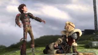 getlinkyoutube.com-How To Train Your Dragon 2: Hiccup and Astrid Scene