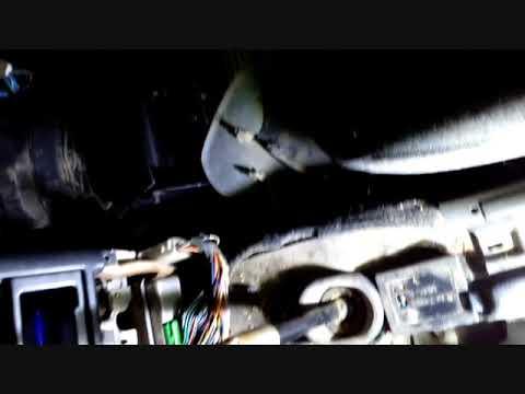 Замена радиатора печки Mazda 626