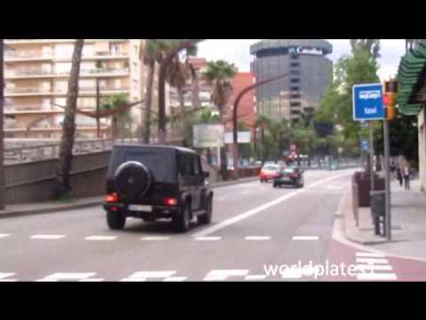 Swedish women driving Mercedes G55 V8 Kompressor acceleration!