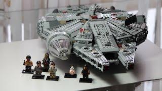 getlinkyoutube.com-LEGO Star Wars Set 75105 Millennium Falcon Review deutsch german
