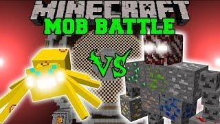 getlinkyoutube.com-THUNDER SPIDER VS ORE BOSS - Minecraft Mob Battles - Mods