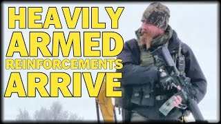 getlinkyoutube.com-HEAVILY ARMED REINFORCEMENTS ARRIVE: NEW MILITIA GROUP JOIN BUNDYS TO PREVENT WACO SIEGE