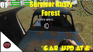 "getlinkyoutube.com-The Survivor Rusty Forest New Update ""Driveable Cars"""