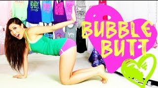 getlinkyoutube.com-Bubble Butt (Clenching my Booty) Workout   POP Pilates for Beginners