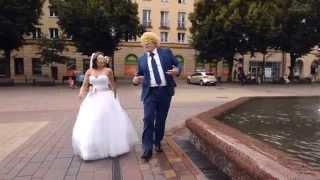 getlinkyoutube.com-█▬█ █ ▀█▀ Najlepszy LIP DUB Ślubny 2014 - Iza & Robert z Tychów - Video DSLR