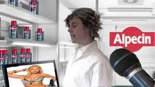 getlinkyoutube.com-Wir fragten Laborchef Dr. KLENK!  ( Alpecin -Werbung PARODIE)