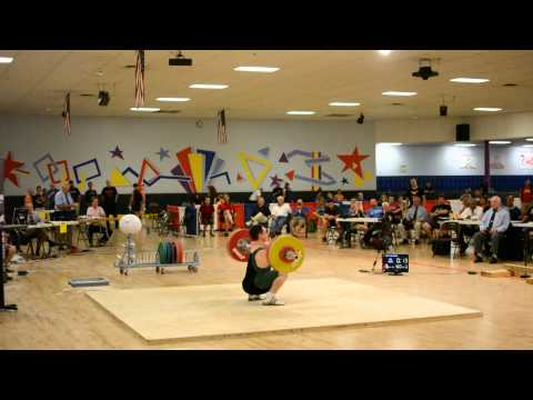 Adam Beytin Lifting at the 2013 Senior Nationals, Slow Motion Version