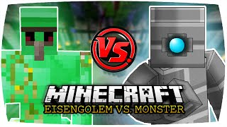 getlinkyoutube.com-EMERALD GOLEM VS. BATTLE TOWER GOLEM   Minecraft: Eisengolem vs. Monster • #65   Battle Towers Mod