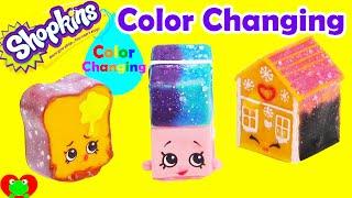 getlinkyoutube.com-DIY Color Changing Shopkins Polished Pearl Erica Eraser, Ginger Fred, and More