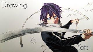 getlinkyoutube.com-Speed Drawing Yato - Noragami