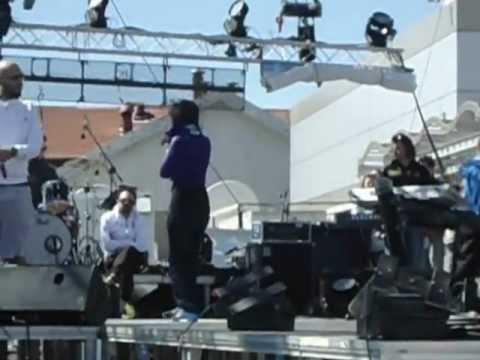 Stavento ft. Ivi-San erthei i mera Live@Amita Motion Thessaloniki 2012 (Soundcheck)