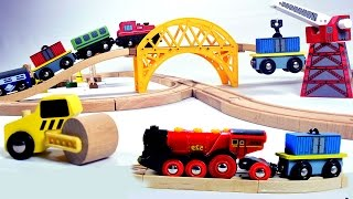 getlinkyoutube.com-toy train videos for children -  train for kids - train videos - chu chu train