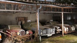 getlinkyoutube.com-Abandoned Cars in Barns US 2016. Old Vintage Cars. Abandoned rusty cars in America.