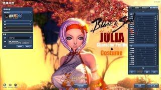 getlinkyoutube.com-Blade & Soul Mod Julia Profile (Uncensored Outfit)
