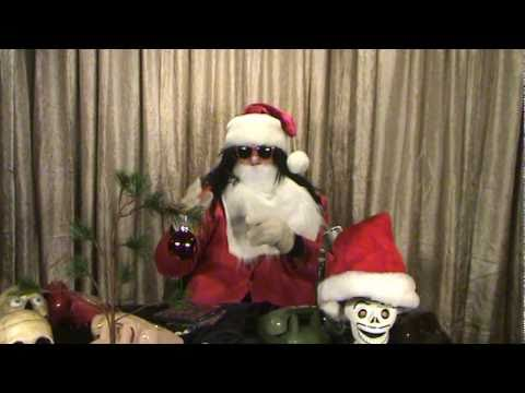 Dr Ivan Cryptosis as Crypta Claus for the Italian Zombie Movies Parts 1 and 2