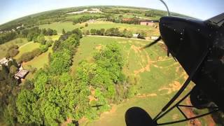 Just Aircraft SuperSTOL Takes Off & Lands In Pasture