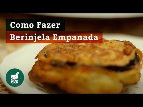 Como fazer Berinjela Empanada - Lanchinho da Nona