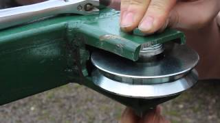 getlinkyoutube.com-Homemade Portable Sawmill Build part 2 - Country Living -