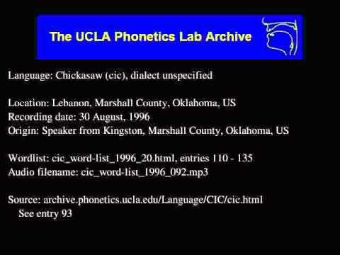 Chickasaw audio: cic_word-list_1996_092