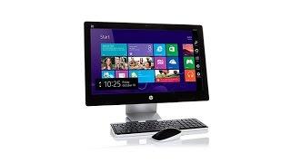 "getlinkyoutube.com-HP Pavilion 23"" Touch Full HD IPS LED, AMD QuadCore 4GB ..."