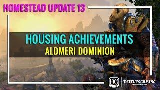 getlinkyoutube.com-ESO Housing Achievements - Aldmeri Dominion