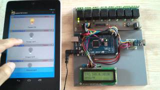 Android Arduino Wifi Control Devices with ESP8266 and Arduino MEGA