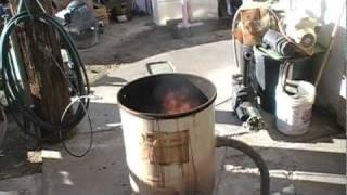 getlinkyoutube.com-Building a Waste Oil Heater