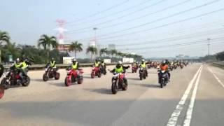 Benelli MotoGP 2014 Ride to Sepang International Circuit