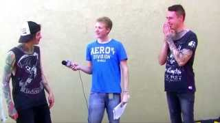 getlinkyoutube.com-Asking Alexandria Interview #4 Ben Bruce & James Cassells UNCUT 2015