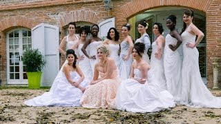 getlinkyoutube.com-* Mariage31.com Bridal Session * - Les mariées remettent leur robe -