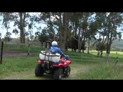 Quadbar ATV Roll bar test