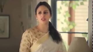 Huma Qureshi As Wife In Tv Ads | Romentic & Anger |