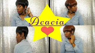 getlinkyoutube.com-Outre Synthetic Wig Acacia Wig Review-- Under $15 --T-boz 90's style