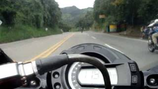 getlinkyoutube.com-FZ6 -- BMW R 1200 GS ---- NINJA