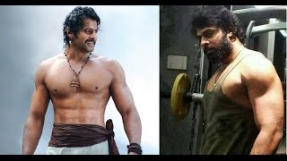 "getlinkyoutube.com-Prabhas Gains 150 KG for ""Baahubali 2"""