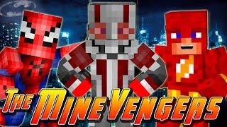 getlinkyoutube.com-Minecraft MineVengers - SPIDERMAN & WOLVERINE!