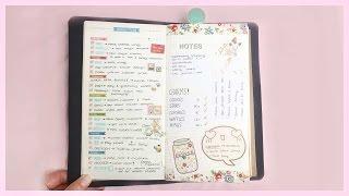 getlinkyoutube.com-Midori Planner Setup Tour 2015 ● Sketchbook, Planner, Shop