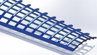 SolidWorks Tutorial #138: Dutch Mill Wing
