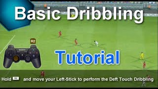 PES 2013 - Basic Dribbling Tutorial